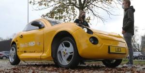 Geri Dönüştürülmüş Plastikten Elektrikli Araba Ürettiler