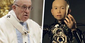 Papa, Yapay Zeka ve Robotlar İçin Dua İstiyor