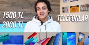 1500-2000 TL Arasında Alınabilecek Akıllı Telefonlar! (Kasım 2020)
