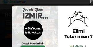 Bizizmir.com İle İzmir'deki Depremzedelere Yardım Edebilirsiniz