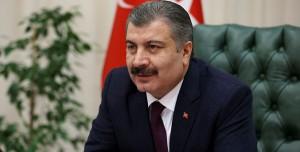 Sağlık Bakanı Fahrettin Koca 10 Kişiyle Asansöre Bindi