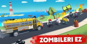 Zombie Derby Pixel Survival