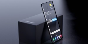 Samsung Şeffaf Ekranlı Telefon 2021'de Geliyor