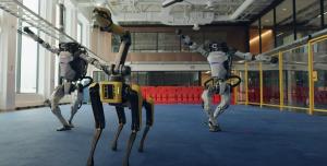 Boston Dynamics Robotlarından Muhteşem Dans Videosu