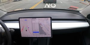 Sürücüsüz Tesla Otopilotu Şehirler Arası Yolculuk Yaptı
