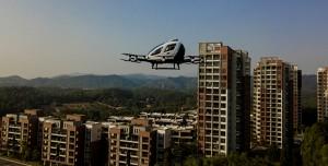 Uçan Taksiler Hizmeti Çin'de Kullanıma Sunuldu!