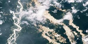 NASA'nın Yayınladığı Amazon'un Altın Nehirleri Felaketi Gösteriyor