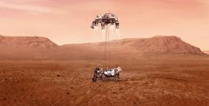 Perseverance, Mars'a İniş Yaptı! İşte Mars'tan Gelen İlk Fotoğraf