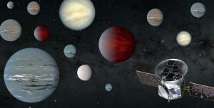 NASA'nın Gezegen Avcısı İki Yılda 2200 Gezegen Buldu