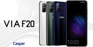 Casper'ın İlk Yerli Telefonu Satışta: Casper Via F20 Özellikleri ve Fiyatı
