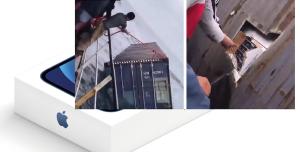 Denizin Ortasında iPhone 12 Dolu Konteyner Bulundu (Video)
