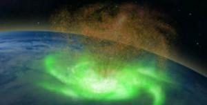 Kuzey Kutbu'nun Üzerinde Uzay Kasırgası Tespit Edildi