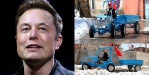 Yerli Elon Musk, Tekne Motoru ile Traktör Yaptı