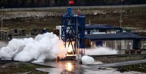 Ay Görevinde Kullanılacak Roket Motorunun İlk Testi Başarılı