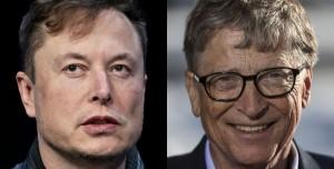 Elon Musk Aşı Karşıtı Karikatürle Bill Gates'i Hedef Aldı