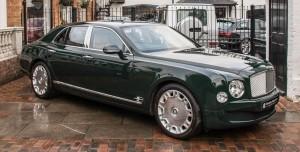 Kraliçe II. Elizabeth'in Kullandığı Bentley Satışa Çıkarıldı