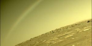 NASA Açıkladı: Mars'taki Gökkuşağı Görüntüsü Gerçek Değil mi?