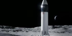 NASA İnsanları Ay'a Göndermek İçin SpaceX'i Seçti