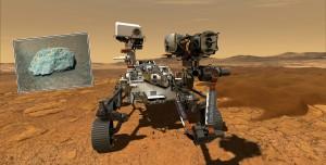 Perseverance Mars'ta Tuhaf Bir Kaya Buldu: NASA Tanımlayamadı
