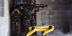 Boston Dynamics'in Robot Köpeği Savaş Tatbikatında Kullanıldı