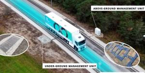 Dünyanın İlk Elektrikli Araç Şarj Eden Otoyol Denemesi Başladı