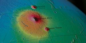 Mars'taki Aktif Volkanlar İlk Defa Tespit Edildi