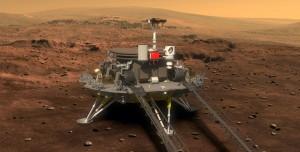 Çinli Uzay Aracı Tianwen-1'den İlk Mars Fotoğrafı Geldi