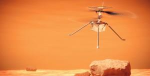 NASA Mars Helikopteri Büyük Bir Felaketi Atlattı