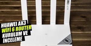 Huawei AX3 Wifi 6 Plus İnceleme Videosu