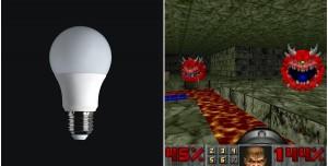 Akıllı Ampulde Doom Oynadılar: Nasıl Görünüyor?