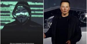 Anonymous Elon Musk'ı Tehdit Etti: Şımarık Milyarder