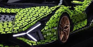 400.000 Lego ile Gerçek Boyutlu Lamborghini Hazırlandı
