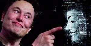Elon Musk Anonymous'a Haftalar Sonra Yanıt Verdi!