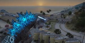 Yeni GTA 5 Godzilla Modu, Büyük Canavarı Los Santos'a Getiriyor