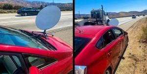 Araba Kaportasına Starlink Anteni Yerleştirince Ceza Yedi