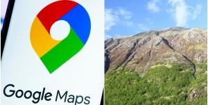 Google Maps İnsanlara Uçurumdan Aşağı Yürümelerini Öneriyor