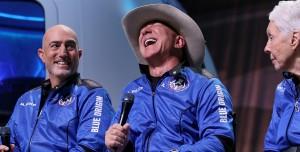 Jeff Bezos'tan Uzay Uçuşu Teşekkürü: Parasını Siz Ödediniz