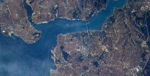 NASA Astronotundan Atatürk Detaylı İstanbul Paylaşımı