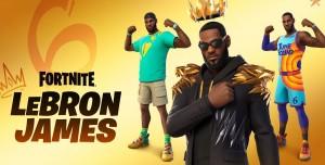LeBron James Fortnite Oyununa Ekleniyor