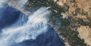 NASA Orman Yangınlarının Uydu Görüntülerini Yayınladı
