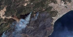 Orman Yangınlarının Uzaydan Çekilmiş Görüntüleri Paylaşıldı