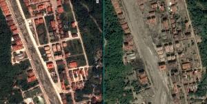 Karadeniz Sel Felaketinin Öncesi ve Sonrası Uydudan Görüntülendi