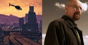 Breaking Bad GTA 5'in Açılış Ekranına Uyarlandı (Video)