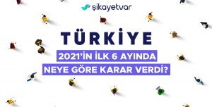 2021'de Türkiye'de En Çok Şikayet Edilenler Açıklandı