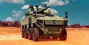 BMC, Yerli Altuğ 8x8 Zırhlı Muharebe Aracını Tanıttı