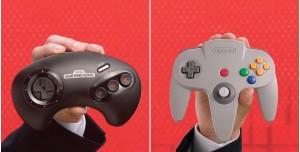 N64 ve Sega Genesis Gamepadleri Nintendo Switch İçin Duyuruldu