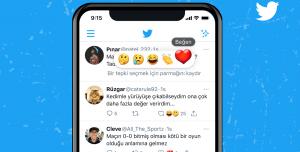 Twitter Emojilerle Tepki Verme Türkiye'de Test Ediliyor