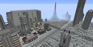 Star Wars Gezegenleri Minecraft Haritası Olarak Tasarlandı (Video)