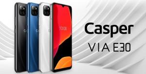 Casper Via E30 Güçlü Bataryayı Şık Tasarımla Harmanlıyor