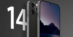 iPhone 14 Damla Çentik ile Kutudan Çıkabilir